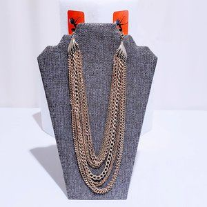 MediabyMedina Jewelry - 🆕Gold Multi-Layered Chain Necklace🦄💋